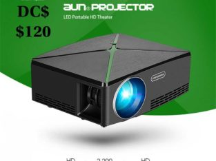 AUN C80 Mini HD Projector (Free MiraScreen)