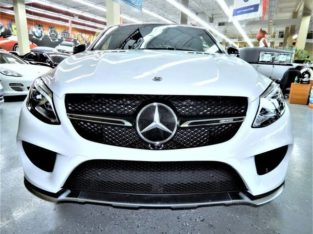 2018 Mercedes-Benz GLE 43 AMG 4MATIC Coupe for auction.