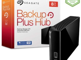 Seagate® Backup Plus Hub 8TB Desktop Hard Disk New