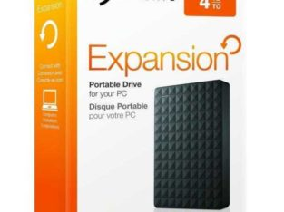 "Seagate Expansion Portable 4TB 2.5"" External Hard Drive (NEW)"