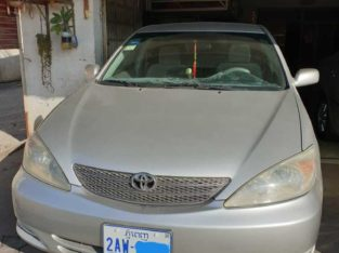 Camry Le ABS silver ទឹកប្រាក់