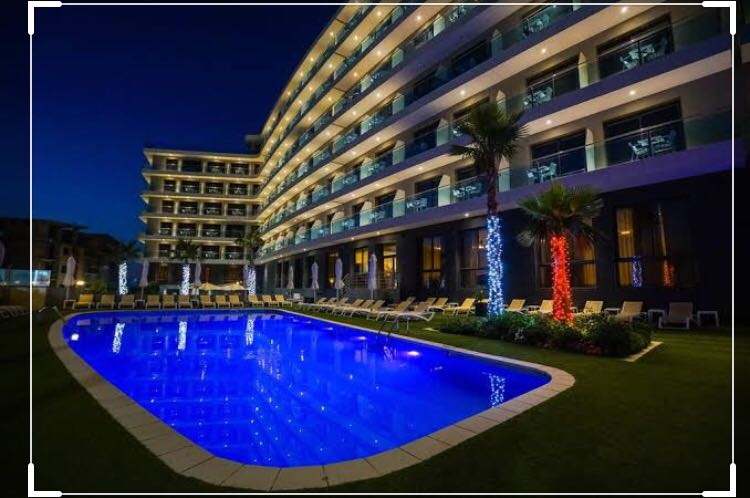 3 stars hotel and 5 star hotel on the beach view at hurghada Egypt Red Sea and big land for sale