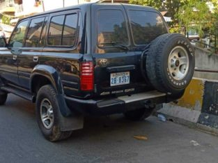 Toyota land cruiser 1996 Arab