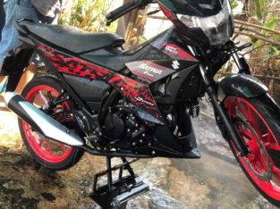 New 95% just arrive Suzuki Satria 2019