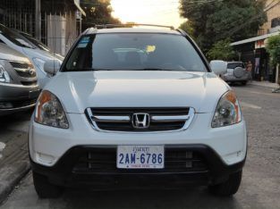 HONDA CR-V 2002 Full Options
