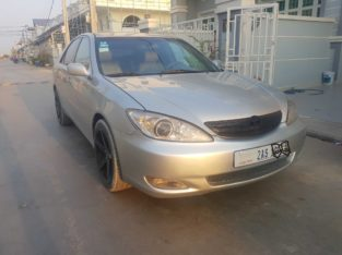 Camry2003 XLE  full siver