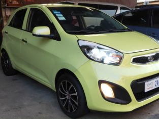 2012 KIA MORNING SmartKey Full Option