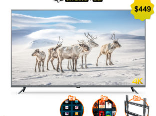 Mi Smart TV 55″ 4K $449 (Free App movie &Khmer TV)