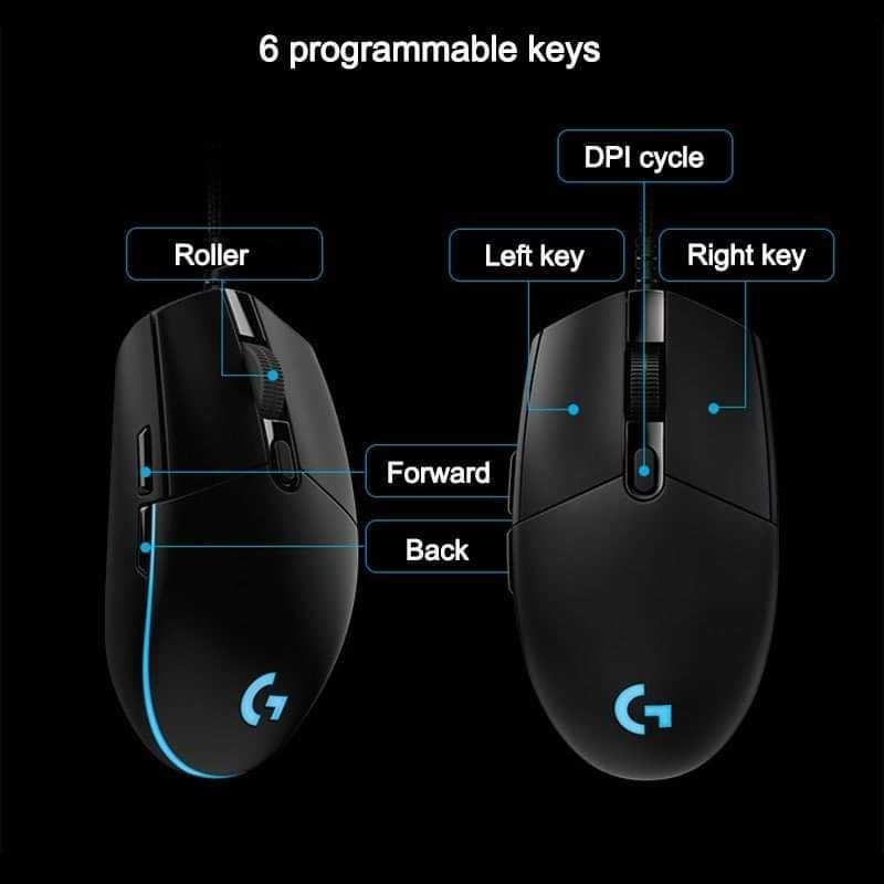 Logitech G Pro Wired Mouse for Sale! Second Hand from USA.