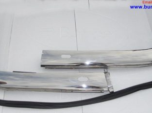 Classic Car BMW 2800CS bumper by stainless steel