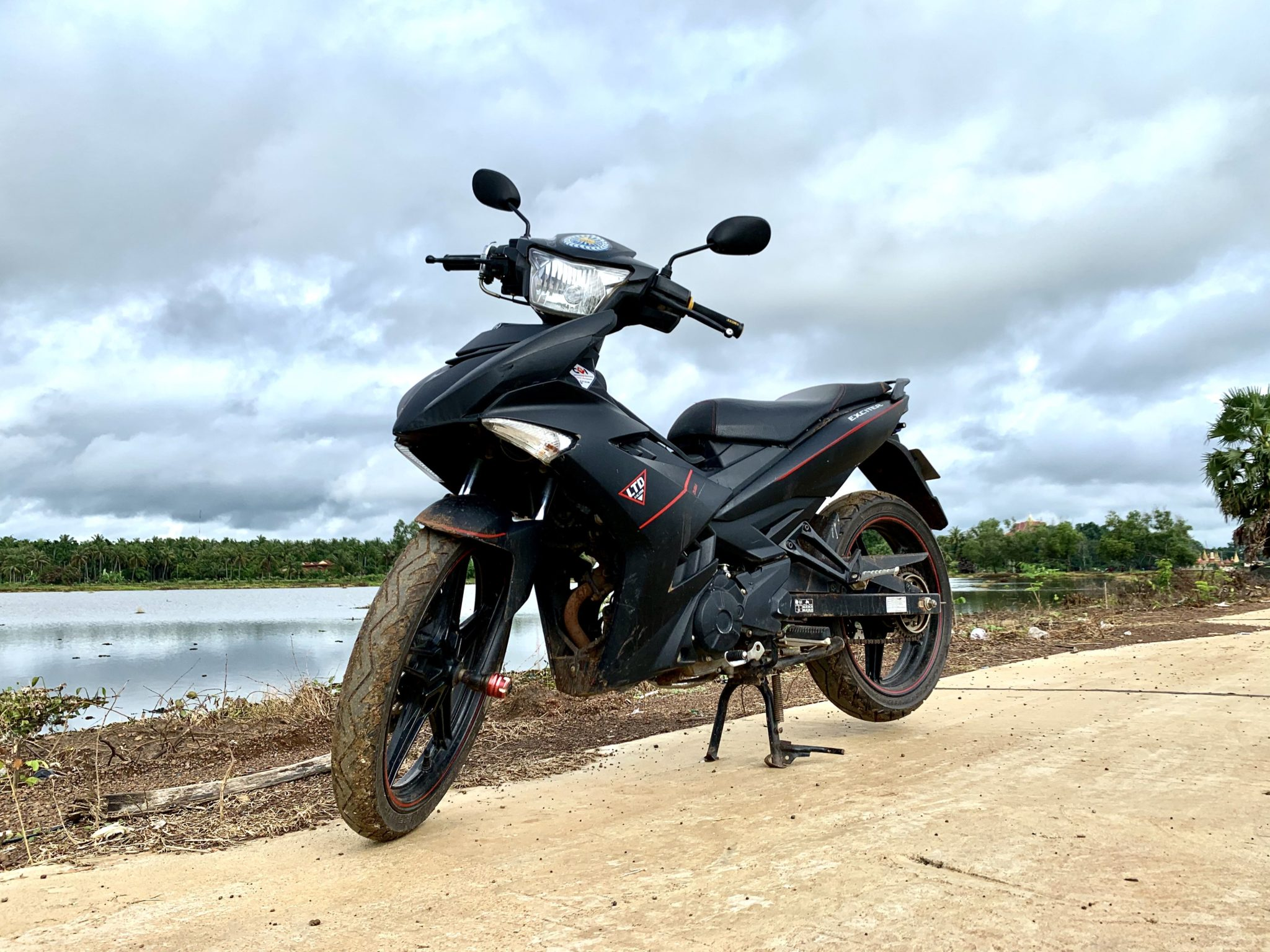 Exciter 017 ចង់លក់ប្ដូរសេរី
