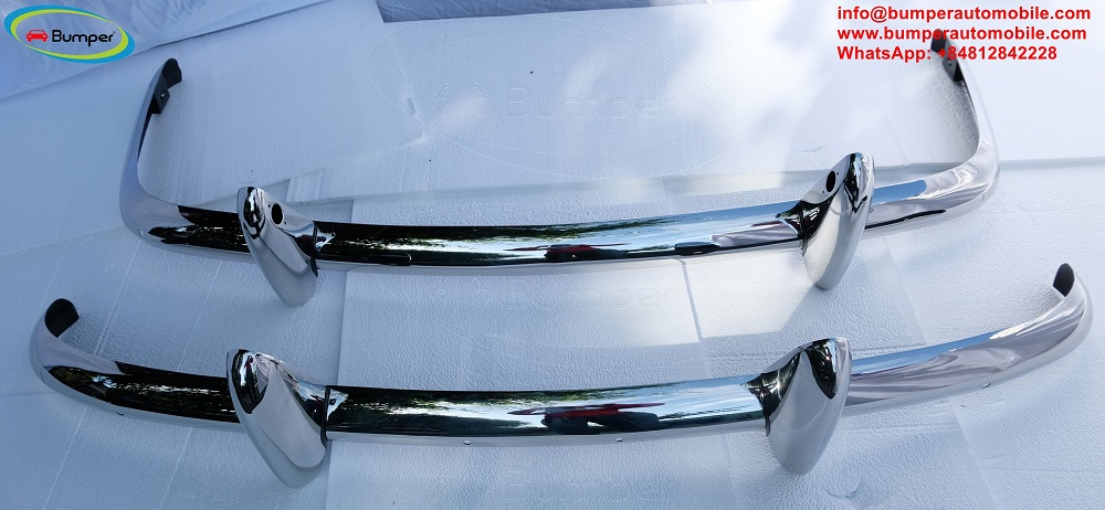 Triumph TR4 (1961-1965) bumper by stainless steel