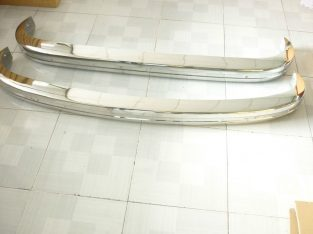 VW type 3 stainless steel bumpers 1970-1973