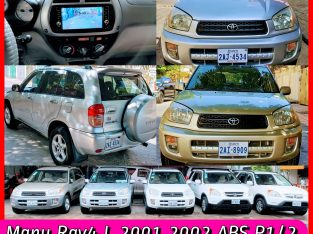 Many Rav4 L 2001 Android Camera ABS VCD DVD 012/015/066-992177
