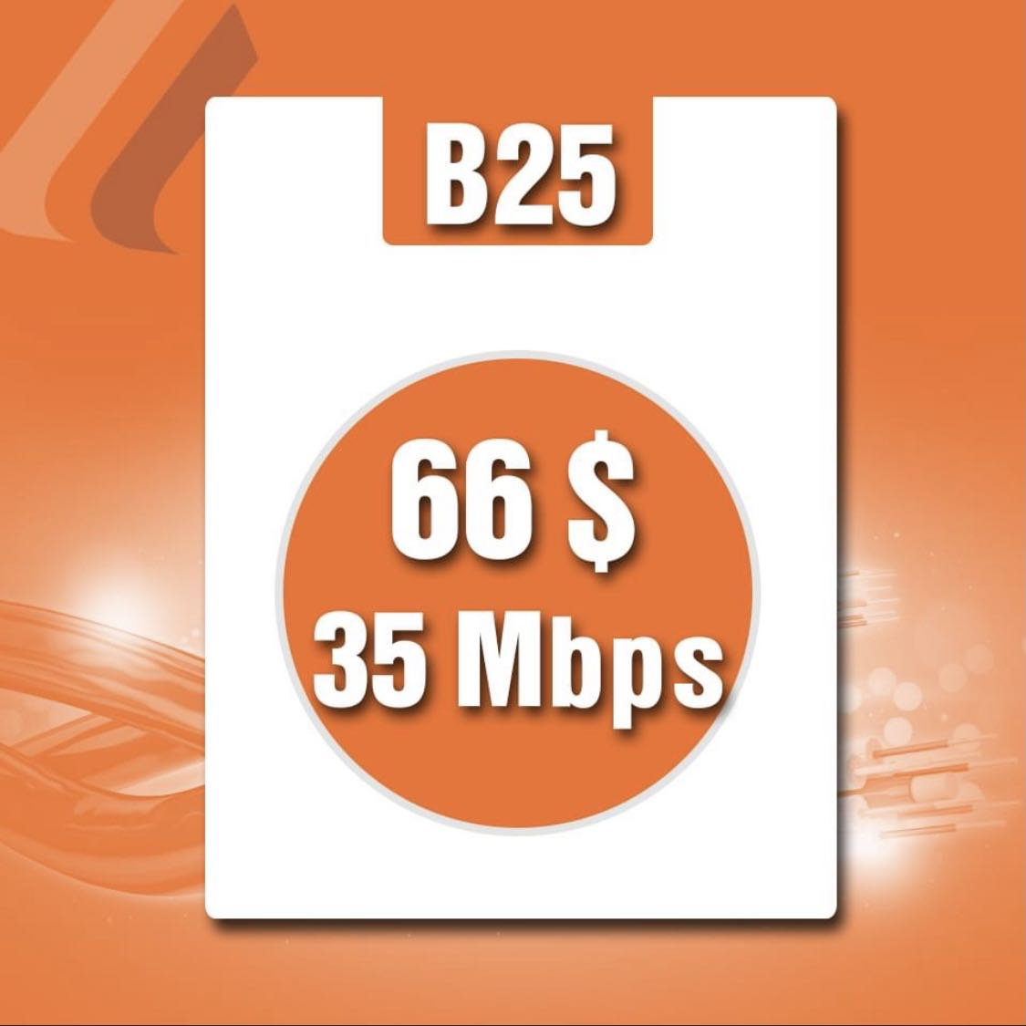 FTTH Business 35mbps/66