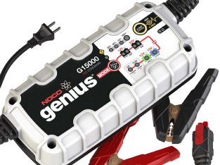 NOCO Genius G15000 12V- 15 Amp Pro- Series Battery Charger and Maintainer