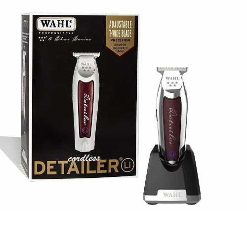 Wahl professional 5- Star Barber Combo Features a New Look 5 – Star Legend Cilpper and Hero T- Blade