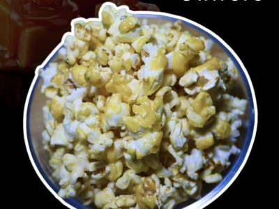 Popcorn and snack