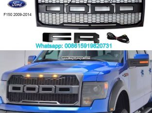 Ford F150 Racing Grills ABS Front Bumper Grille Ra