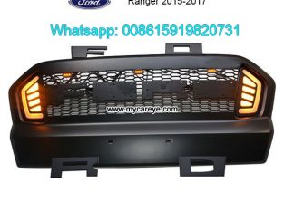 Ford Ranger Grills Car Front Bumper Grille With LE