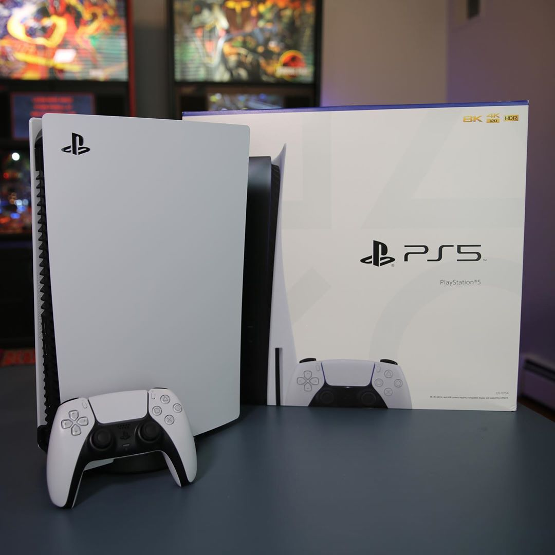Sony PlayStation 5 Standard Edition Console Disc Version