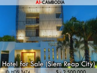 Hotel for sale and rent in Siem reap Cambodia