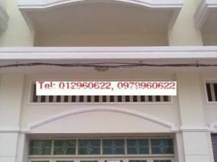Shop house 18m × 4m, 2 floors, Opposite of Phnom Penh Airport ( New Town) 0979960622